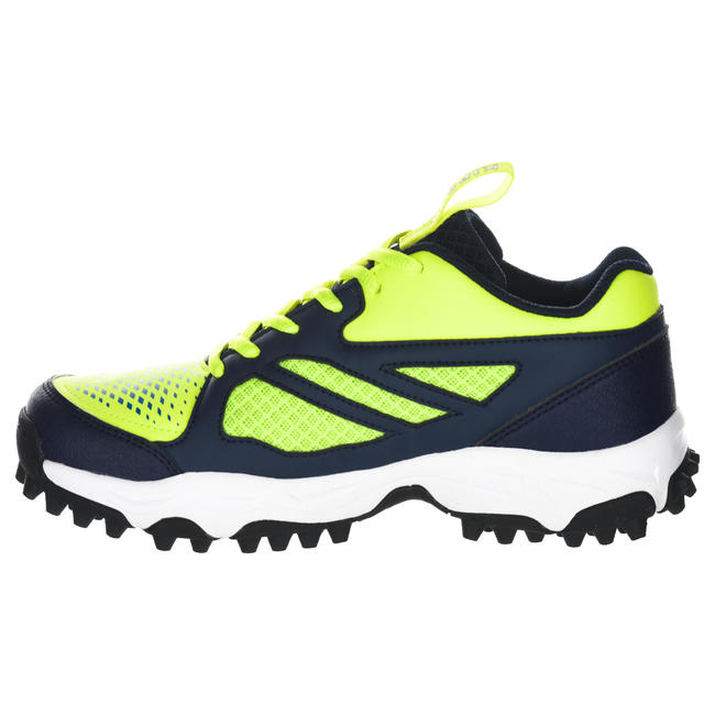 FH100 Kids' Low to Medium Intensity Field Hockey Shoes - Yellow