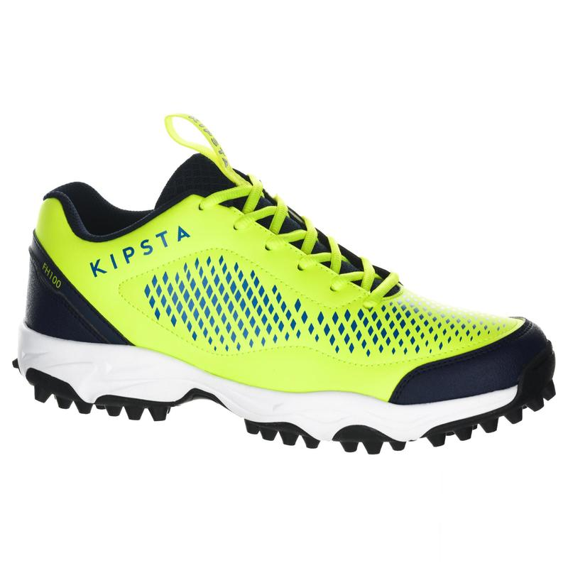 FH100 Adult Low Intensity Field Hockey Shoes - Yellow