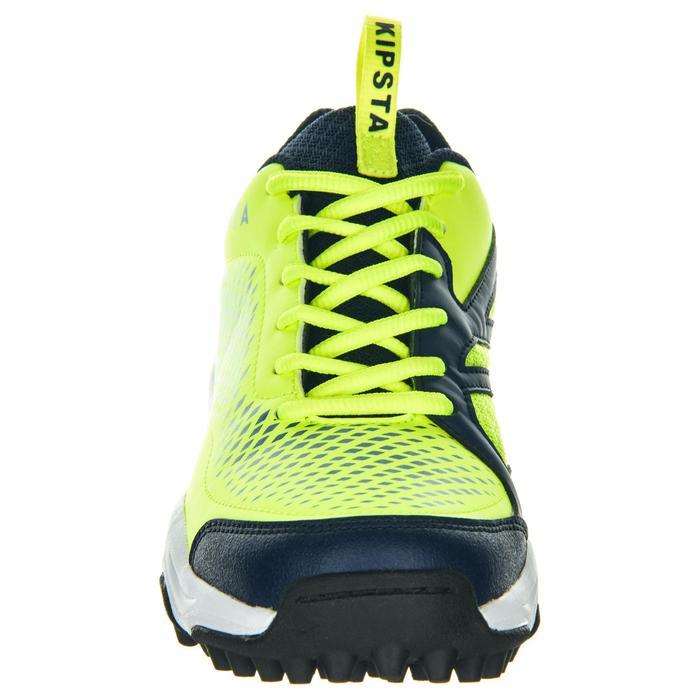 Zapatillas de hockey sobre hierba adulto intensidad baja FH100 amarillo