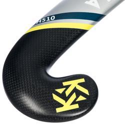 Hockeystick volwassenen halfgevorderd lowbow 50 % carbon FH510
