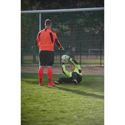 Keepersbroek voetbal volwassenen F100 zwart