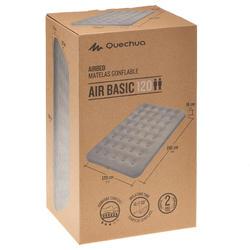 COLCHÓN DE CAMPING INFLABLE AIR BASIC | 2 PERSONAS - ANCHO 120 cm