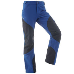 Kids' MH 550 blue hiking trousers