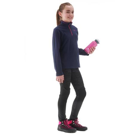 Children age 7-15 hiking fleece MH100 - NAVY