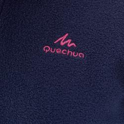 Polaire de randonnée enfant MH100 bleue marine
