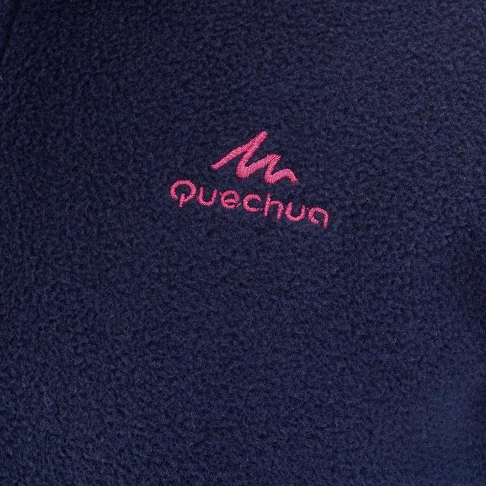 Wandelfleece voor kinderen MH100 marineblauw