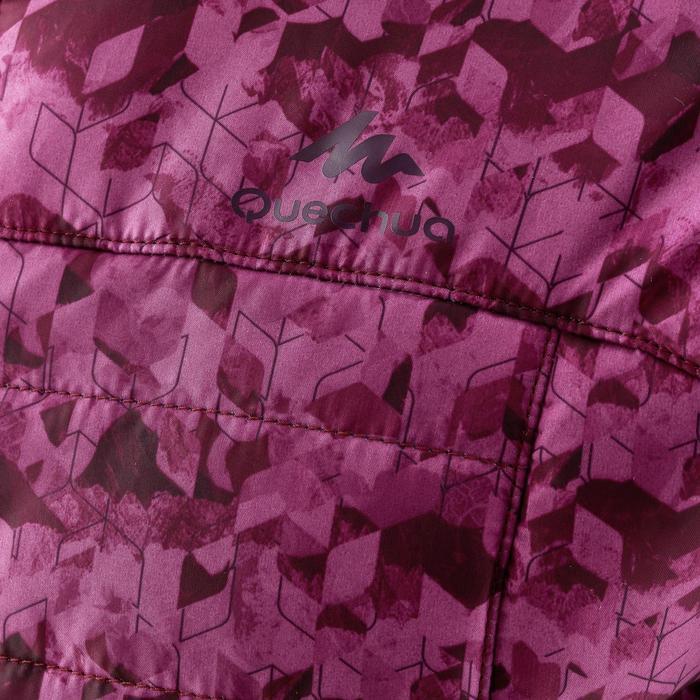 Gewatteerde wandeljas voor meisjes MH500 violet