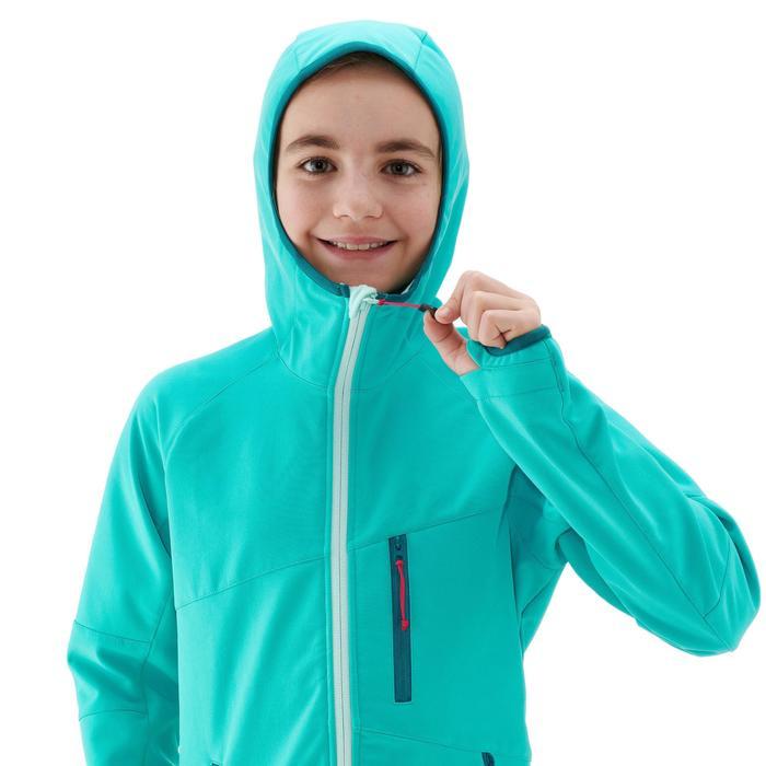 Softshell wandeljas voor kinderen MH900 blauw