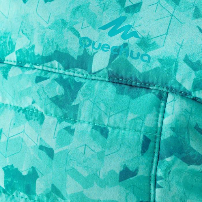 Wattierte Jacke MH500 Kinder Ceramic Print grün