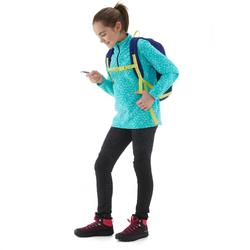 Polaire de randonnée enfant MH120 turquoise
