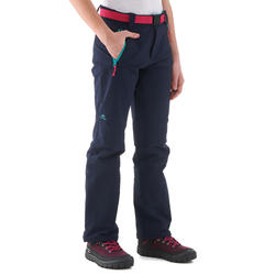 MH 550 children's hiking trousers - blue