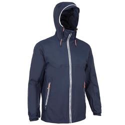 Veste imperméable de voile - veste de pluie coupe vent SAILING 100 homme Navy