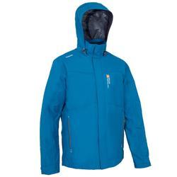 男士航海運動外套 100 - 灰色/藍色