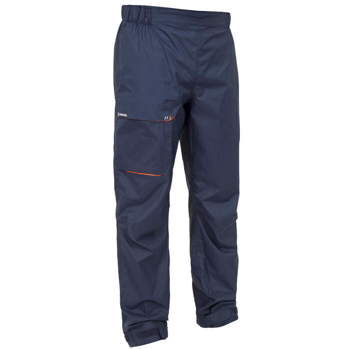 Men's Sailing Waterproof Overtrousers Sailing 100 - Navy