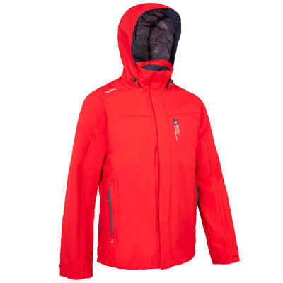 7cc9b55d51b0f7 Куртка 100 для вітрильного спорту, чоловіча, червона