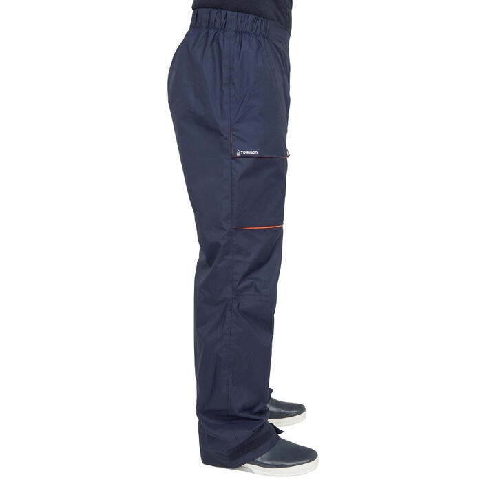 Inshore100 Men's Waterproof Sailing Overtrousers - Navy Blue
