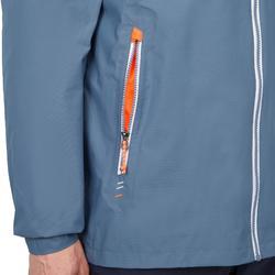 男款防水航海外套Sailing 100-灰橘配色