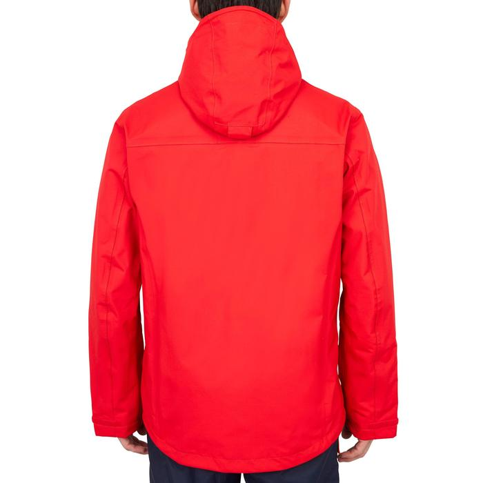 Sailing 300 Men's Waterproof Sailing Jacket - Red