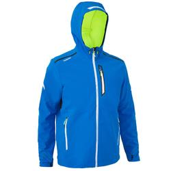 Chaqueta Cortaviento Impermeable Barco Vela Tribord Race Hombre Azul Softshell