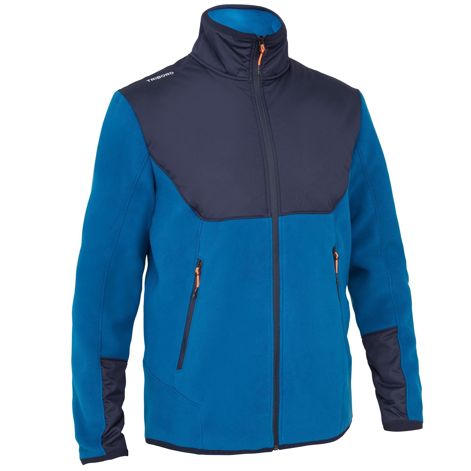 Tribord Warme zeilfleece INSHORE900 heren blauw