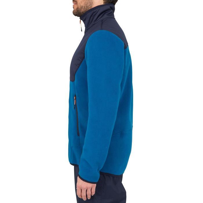 Polaire chaude de voile homme SAILING 500 Bleu bleu