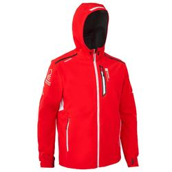 Softshelljacke Segeln Regatta Race Herren rot corporate