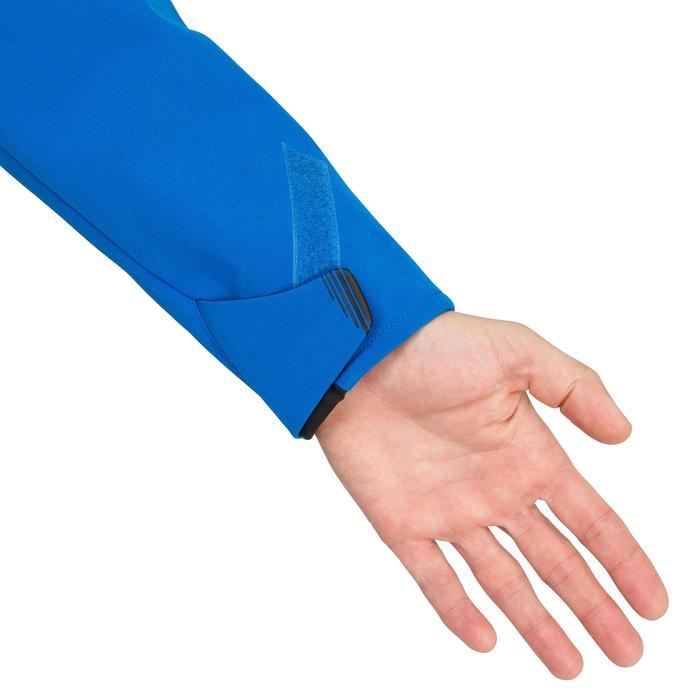 Softshelljacke Segeln Regatta Race Herren leuchtendblau