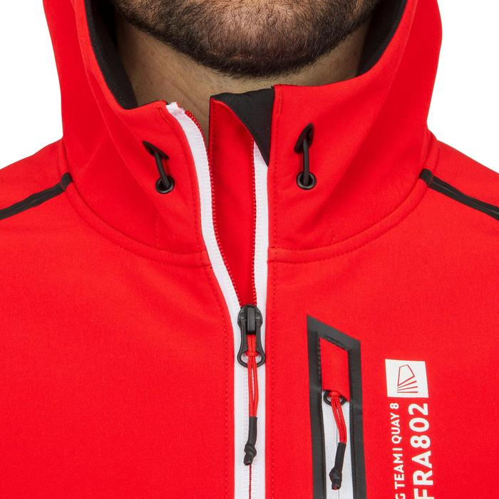 Softshell de regata hombre RACE rojo corporate