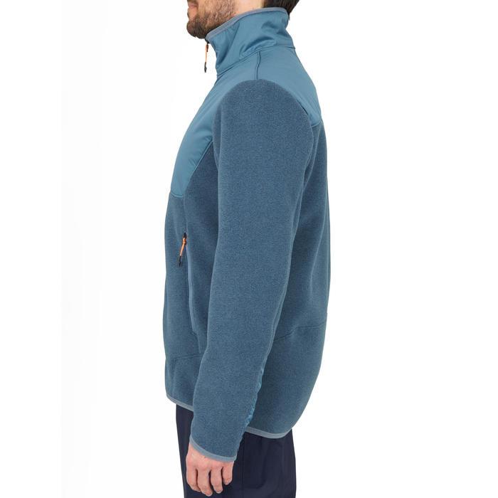 男款保暖航海刷毛外套Sailing 500-灰色
