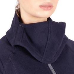 Molleton à capuche 2-en-1 équitation femme marine