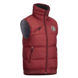 Winter-Reitweste 500 Warm Herren bordeaux