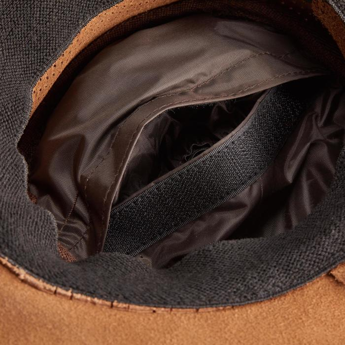 Sombrero equitación adulto CROSSOVER marrón
