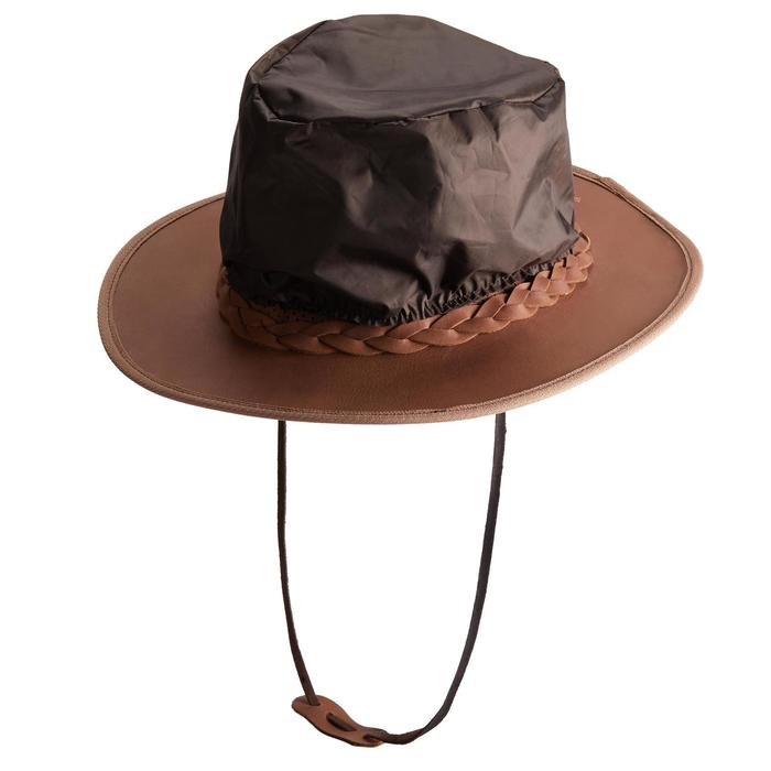 Chapeau équitation adulte CROSSOVER marron