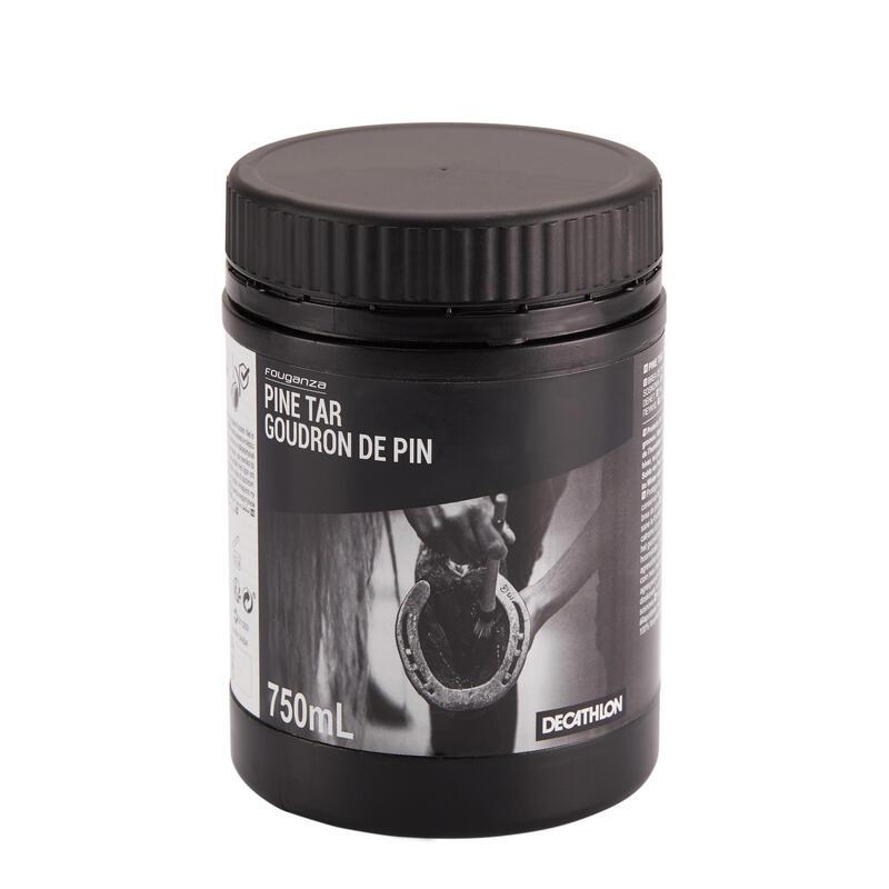 Goudron de pin équitation cheval et poney 750 ML noir