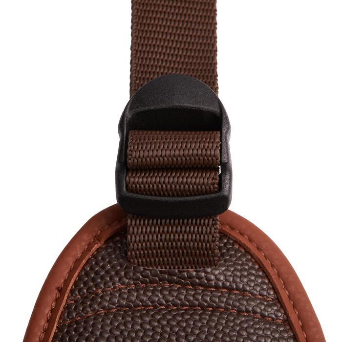 Staartriem ruitersport pony 100 Basic bruin