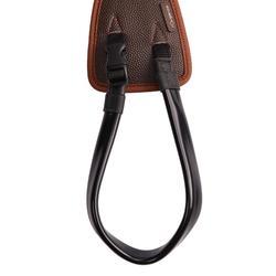 Croupière équitation poney 100 BASIC marron