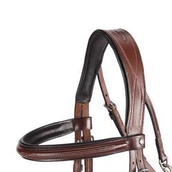 Cabezada de montar equitación caballo TINCKLE marrón