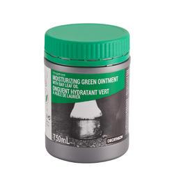 Grasa para casco equitación caballo y poni UNGÜENTO HIDRATANTE verde 750 ml
