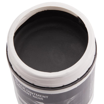 Care Ointment Horse Riding Hoof Grease for Horse and Pony 750 ml - Black