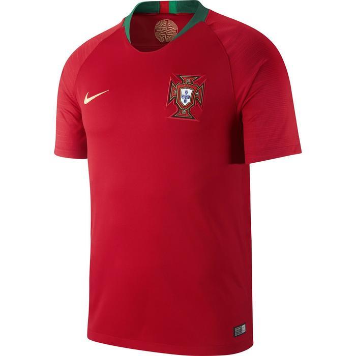 Voetbalshirt Portugal thuisshirt WK 2018 voor volwassenen rood