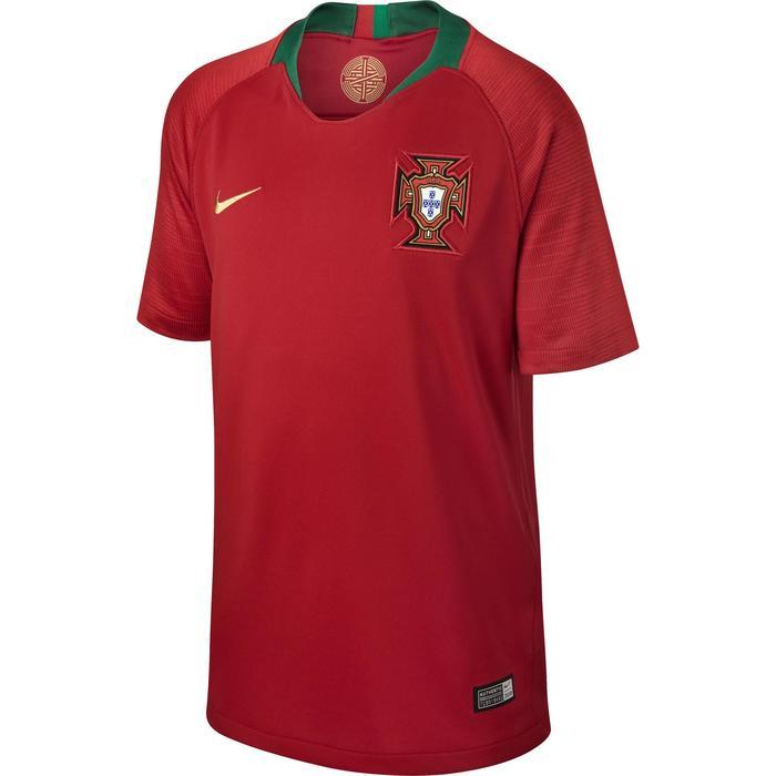 Voetbalshirt Portugal thuisshirt WK 2018 voor kinderen rood