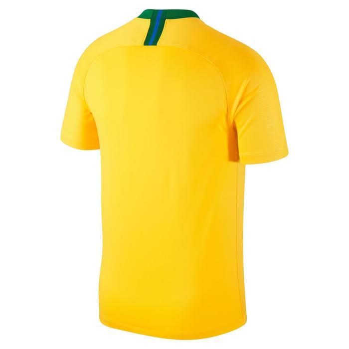 Voetbalshirt Brazilië thuisshirt WK 2018 voor kinderen geel