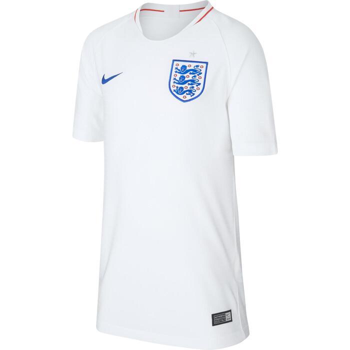 Maillot football enfant réplique Angleterre domicile blanc bleu