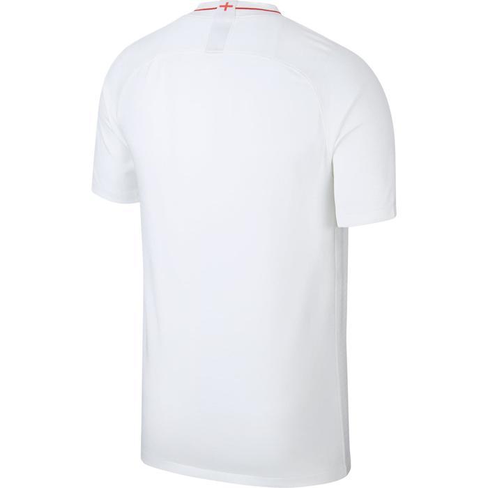 Camiseta de fútbol adulto réplica Inglaterra local blanco azul