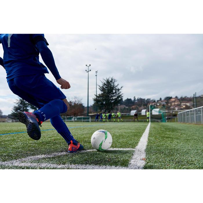 Voetbalschoenen Agility 500 HG voor hard veld, volwassenen, blauw oranje