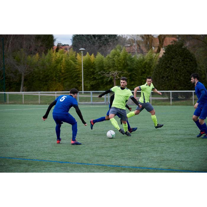 Fußballschuhe Nocken Agility 900 Mid FG Trockenboden Erwachsene schwarz