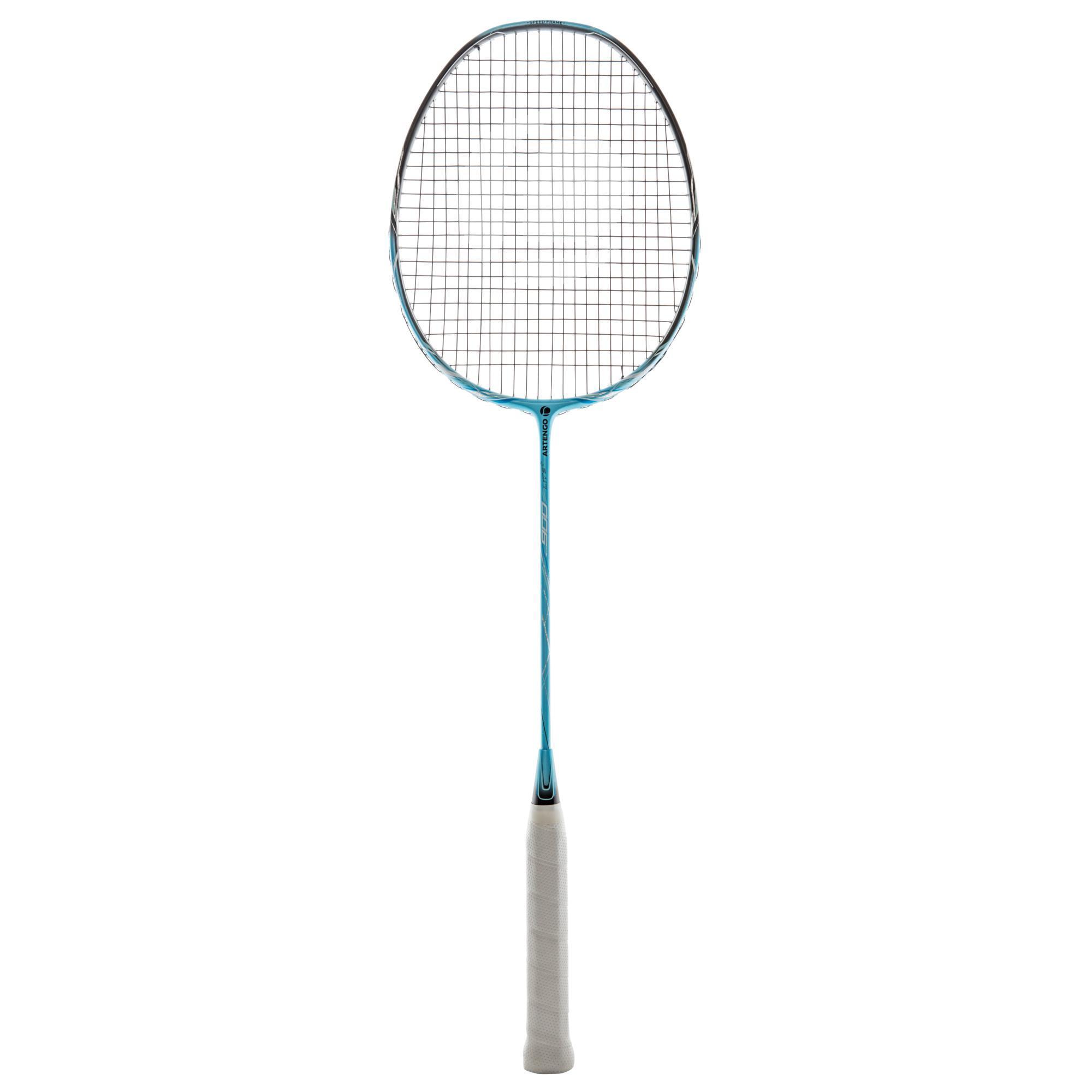Artengo Badmintonracket BR900 S Ultra Lite voor volwassenen sky blue