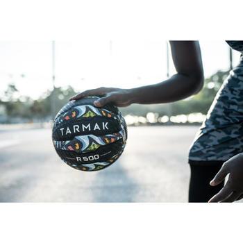Ballon de basket adulte R500 taille 7. Increvable et ultra agrippant. - 1417380