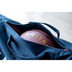 Sac de basket résistant pour transporter jusqu'à 5 ballons de tailles 5 à 7.
