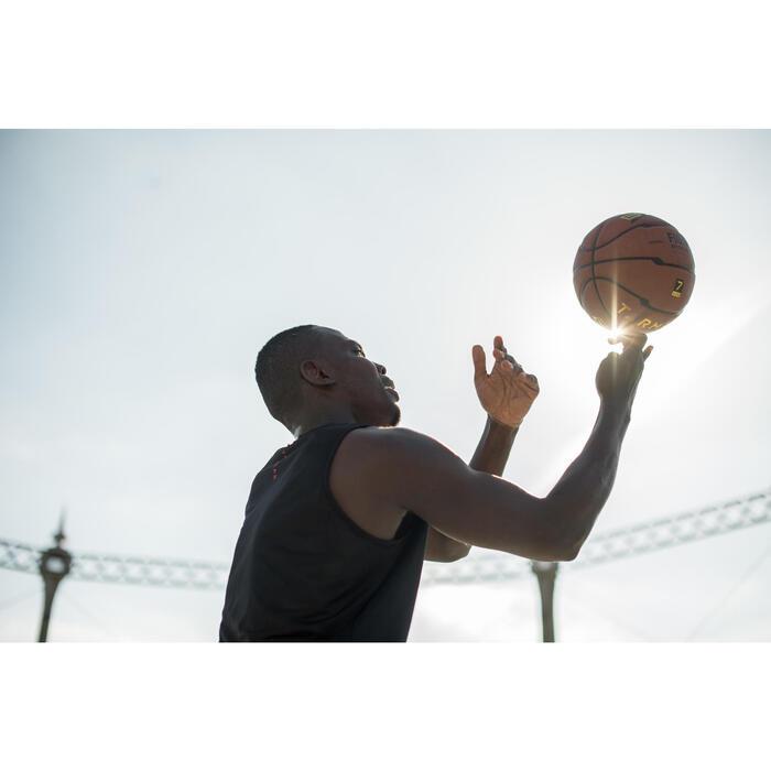 Ballon de basket homme B700 taille 7 marron. Homologué FIBA. Après 12 ans. - 1417405